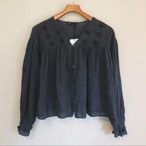 Zara pompom tunic